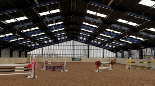 Graham Heath Equestrian Indoor Arenas